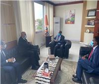 رئيس وزراء جيبوتي يبحث مع السفير المصري التعاون الثنائى بين البلدين
