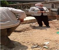 «القاهرة» تشن حملة نظافة لرفع القمامة والاشغالات بدار السلام