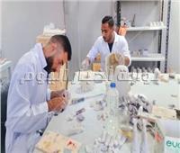 مصنع المستنسخات الأثرية.. أيادي مصرية تعيد إبداع الأجداد| فيديو