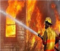 مصرع طفلين في حريق محل بمركز المحلة