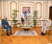  وزير الدفاع ورئيس الأركان يلتقيان قائد الجيش اللبنانى