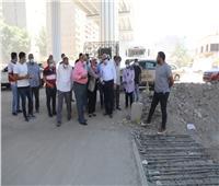 محافظ الجيزة يتابع التجهيزات النهائية لفتح محور السادات بديلاً لشارع الأهرام
