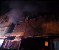 بدء أعمال تبريد حريق مصنع شبرا في القليوبية.. وحصر الخسائر