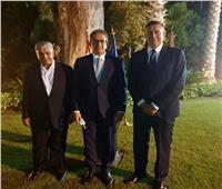 وزير السياحة والآثار يشارك في حفل توديع سفير دولة ألمانيا بالقاهرة