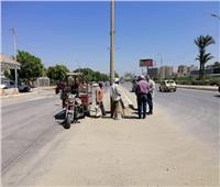 رئيس مدينة المنيا: لن نتهاون مع المقصرين في العمل