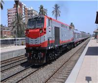 حركة القطارات  متوسط التأخيرات بين خط «بنها - بورسعيد» 35 دقيقة