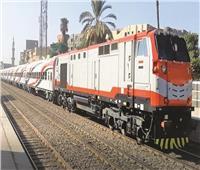 حركة القطارات  40 دقيقة مدة التأخيرات بين القاهرة والإسكندرية