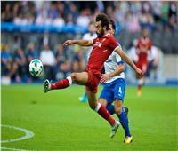 نهاية الشوط الأول بتعادل ليفربول وهيرتا برلين (2-2)