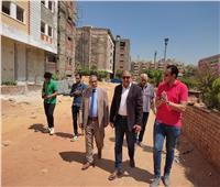 نائب رئيس جامعة الأزهر والأمين العام يتابعان أعمال الصيانة بالمدينة الجامعية