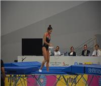 طوكيو 2020| «ملك حمزة» تخوض منافسات جمباز القفز ترامبولين
