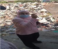 نائب محافظ القاهرة تشن حملة مكبرة لرفع القمامة والإشغالات بالمقطم