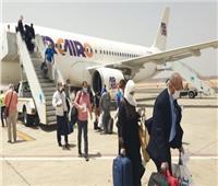 مطار مرسى علم يستقبل 55 رحلة طيران دولية وداخلية من عدة مطارات