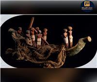 متحف الغردقة يستعرض قطعة من مقتنياته.. مركب ملون من الخشب