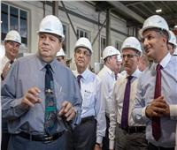 وزير الكهرباء ورئيس المحطات النووية يتفقدان مصنع «مصيدة قلب مفاعل الضبعة»