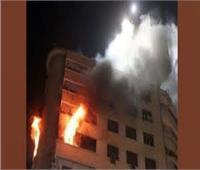 السيطرة على حريق شب داخل شقة سكنية بمنطقة البساتين