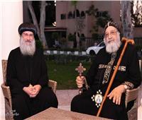 البابا تواضروس يستقبل الأنبا فام أسقف إيبارشية شرق المنيا