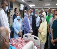 وزيرة الصحة تتفقد مستشفى العلمين النموذجي