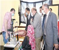 جامعة عين شمس تطلق قافلة طبية بالبحيرة