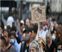 عشرات الآلاف من المتظاهرين في فرنسا احتجاجًا على الشهادة الصحية