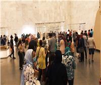 إقبال كثيف من الزوار لمتحف الحضارة القومي خلال عطلة نهاية الأسبوع| صور