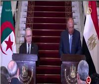 بث مباشر| مؤتمر صحفي لوزير الخارجية ونظيره الجزائري