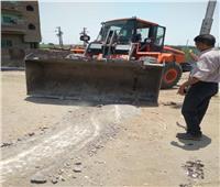 إزالة مطبات على طريق «القاهرة - أسوان» الزراعي لإقامتها بدونتصريح