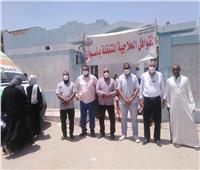 الكشف على1888 مواطنا خلال القوافل الطبية في قرية نصر النوبة ودراو