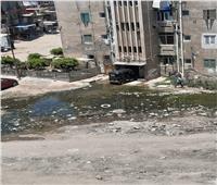 مياه الصرف الصحي تحاصر مساكن شركة الكيماويات بكفر الدوار| صور