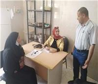 فحص 158 مواطنا وعلاج بالمجان في قافلة طبية بالوادي الجديد