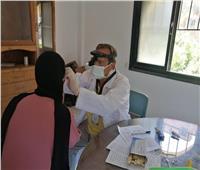 الكشف على 1083 مواطنا خلال قافلة طبية بكفر العرب في دمياط