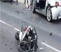 إصابة شخصين في حادث دراجة نارية بأبو النمرس