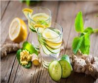 لأعصاب هادئة.. عصير الليمون بالنعناع والزنجبيل البارد