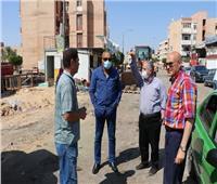 متابعة أعمال تنفيذ «سكن لكل المصريين» ضمن مبادرة الرئيس بأكتوبر