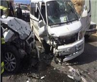 إصابة 4 في حادث مروري بالمحلة