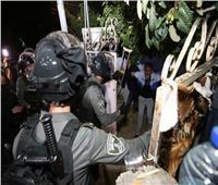 الاحتلال يقمع وقفة احتجاجية في حي الشيخ جراح وسط القدس