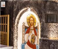 افتتاح مغارة دير درنكة بعد تجديدها