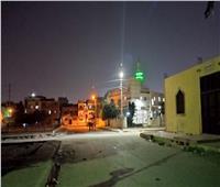 إنارة الشوارع الفرعية في حي ثالث الإسماعيلية| صور