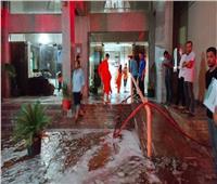 السيطرة على حريق بمستشفى التأمين الصحي بالمنصورة