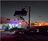 صيانة وإصلاح 79 كشافا وتركيب 18 جديدا بسمنود وقطور