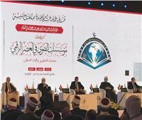 «المفتي» للرئيس السيسي: حافظت على مصر من خطر جماعة الشر ورسخت قيم التسامح