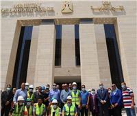 سعفان يتفقد مبنى «القوى العاملة» بالعاصمة الإدارية