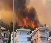 حرائق الغابات تفتح نيران المعارضة ضد أردوغان   فيديو
