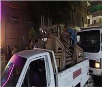 خلال 24 ساعة.. «مرافق الجيزة» تحرر 945 محضر إشغال طريق