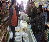 شرطة التموين تضبط 1460 قضية أغذية ومنتجات فاسدة خلال 24 ساعة
