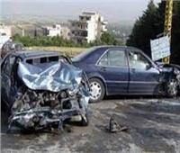 مصرع وإصابة 5 أشخاص في حادث تصادم بطريق «طنطا كفرالشيخ»
