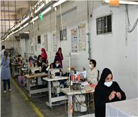 محافظ الفيوم يتفقد مدرسة التعليم الفني المزدوج بمصنع طيبة للصناعات النسيجية