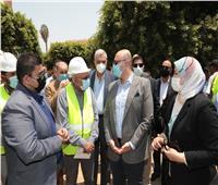 محافظ بني سويف يتابع سير العمل في مشروعات «حياة كريمة» لتطوير القرى