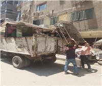 رفع 1200 حالة تعدٍ للمحال والمقاهي والمنشآت التجارية في شوارع الجيزة