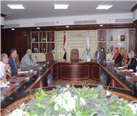 لجنة التنمية المستدامة ببني سويف تبحث تحسين مستوى الخدمات بالقرى