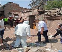 استمرار إزالة عزبة«أبو قرن» العشوائية بمصر القديمة وتسكين الأسر بمدينة معاً